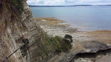 Drilling Of Anchors Via Rope Access 3